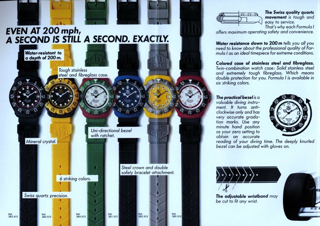 8c992857b Tempus Fugit  Remembering my First Tag Heuer and Team 7-ELEVEN