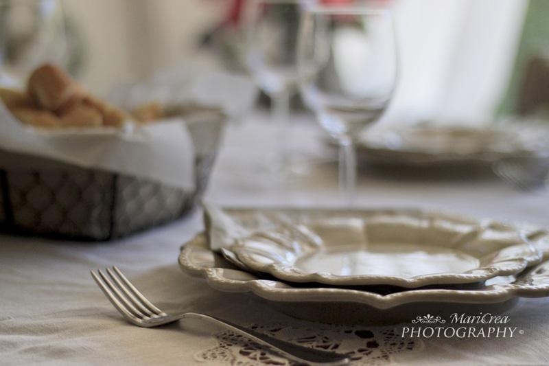 La Magia del Bianco, posto tavola