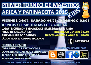 PRIMER TORNEO DE MAESTROS AJEDREZ KIDS 2015