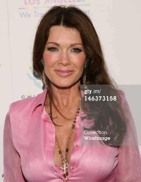 Lisa Vanderpump   Pink Satin Blouse