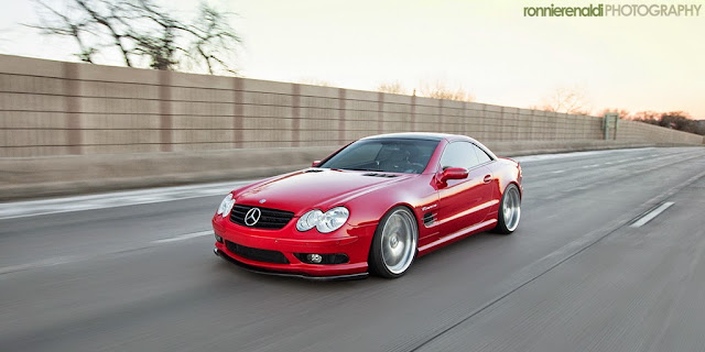 mercedes sl55 chiptuning