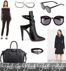 See the 10 fab in black fashion & accessories that needs to be in every woman's wardrobe!