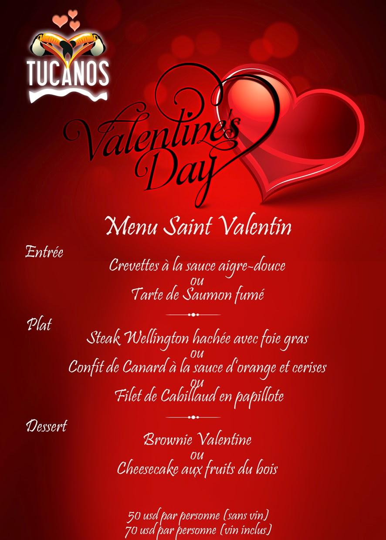 Bonne fete de saint valentin et bienvenu tucanos www - Cuisine saint valentin ...