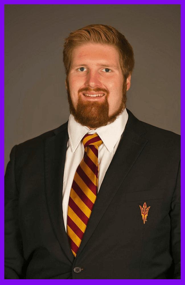 "Arizona State University football player Edward ""Chip"" Sarafin"