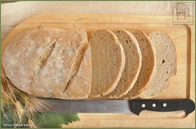 pane bianco casareccio - ricetta di sara papa