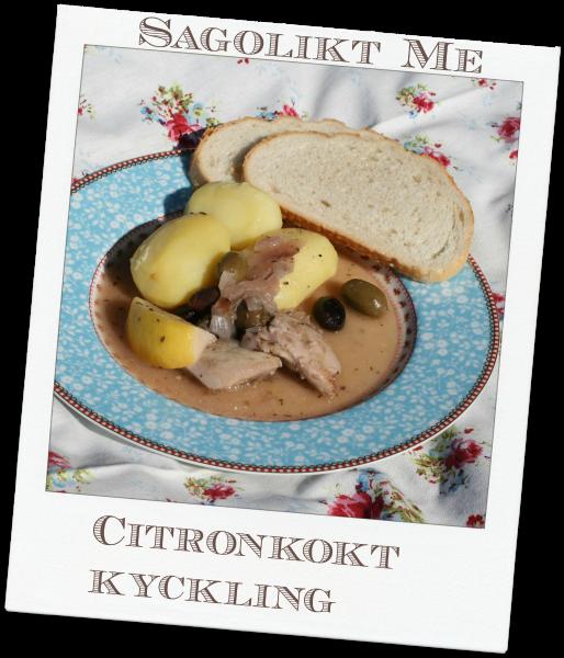 Citronkokt kyckling - coop.se