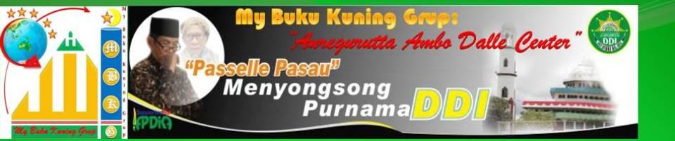 "MyBuku Kuning: ""Passelle Pasau-na GURUTTA AMBODALLE"""