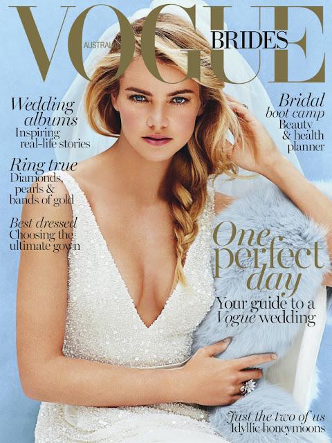 Model @ Elyse Taylor by Derek Kettela for Vogue Australia Brides 2015