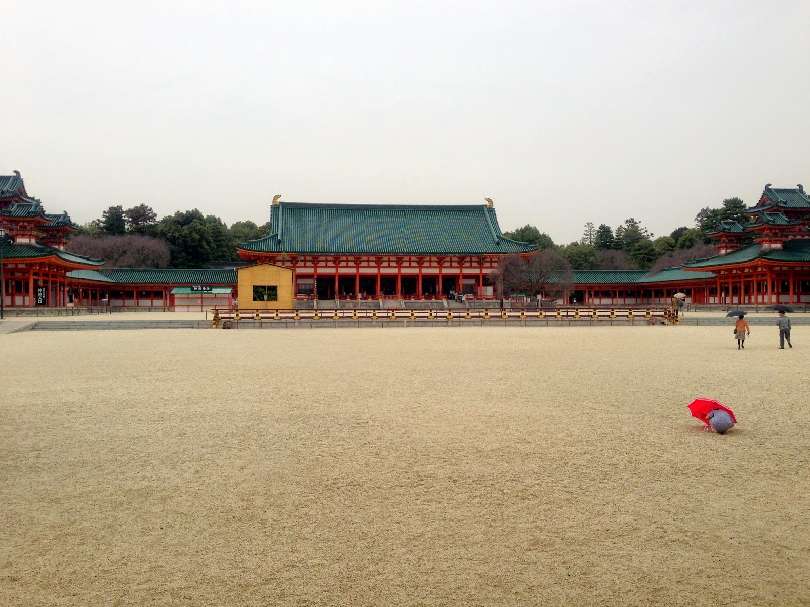 The grounds of Heian-jingu, Heian Shrine