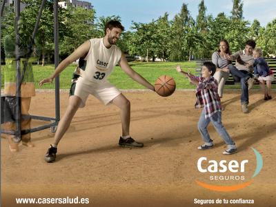 Anuncio caser salud 2012 con marc gasol l mparas anuncios de tv - Seguro medico caser ...