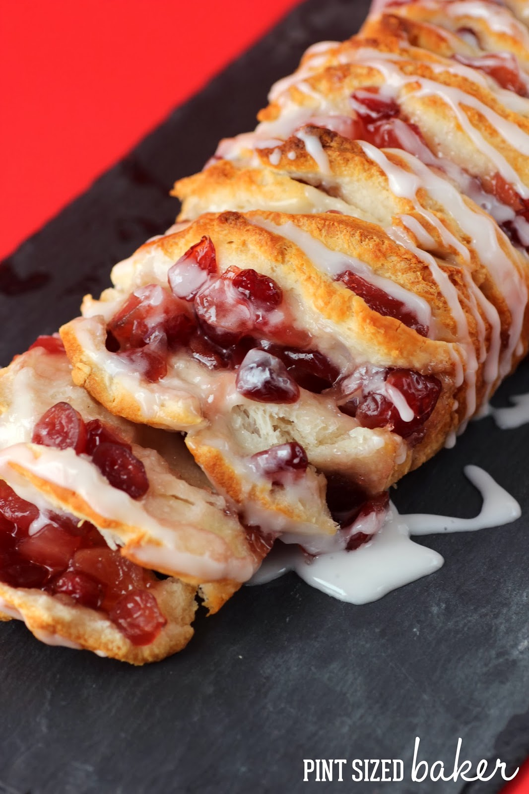 Apple Cranberry Spice Pull Apart LoafPint Sized Baker
