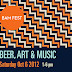 Beer Art and Music (BAM) Festival Returns to Santa Monica October 6th