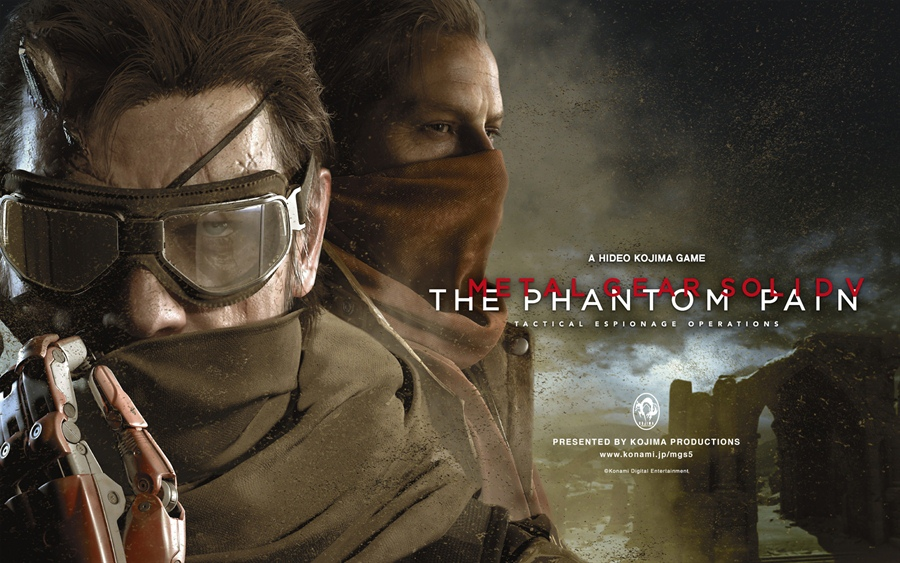 Metal Gear Solid V The Phantom Pain PC Download Poster
