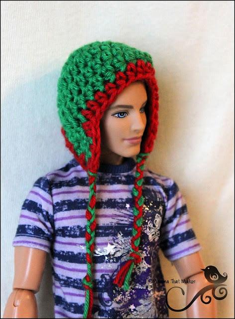 Mamma That Makes: Barbie Month .19 - A beanie for Ken