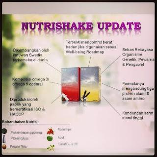 nutrishake oriflame aman untuk ibu hamil dan menyusui
