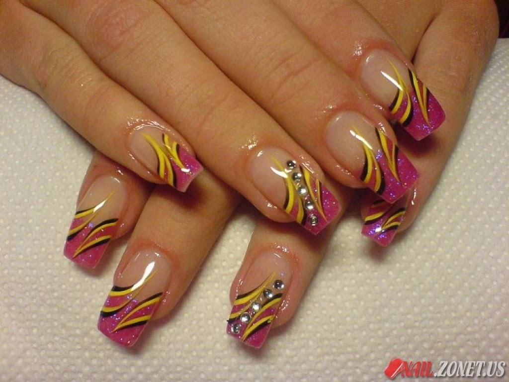 Line Design Nail Art : Beautiful nails art wallpapers free all hd