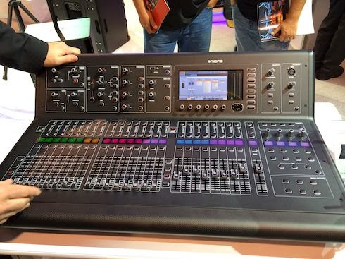 Midas M32 at NAMM 2014 image