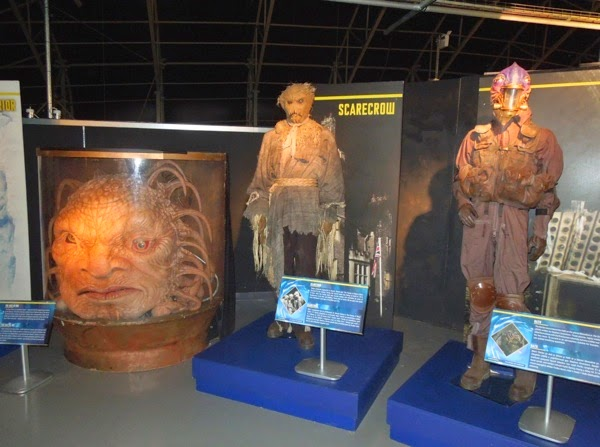 Doctor Who alien creature exhibit
