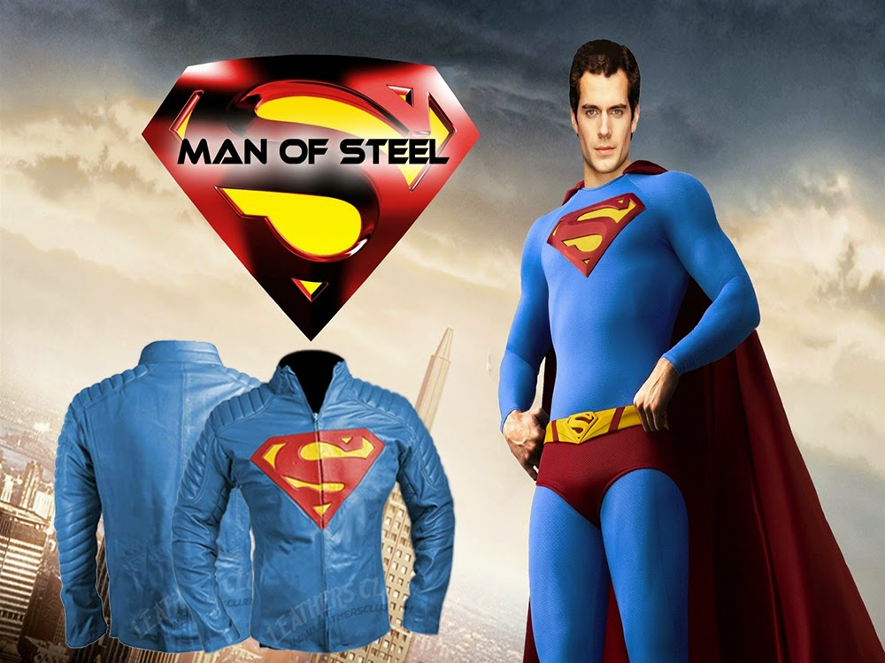 Leathers Trend Superman Jacket