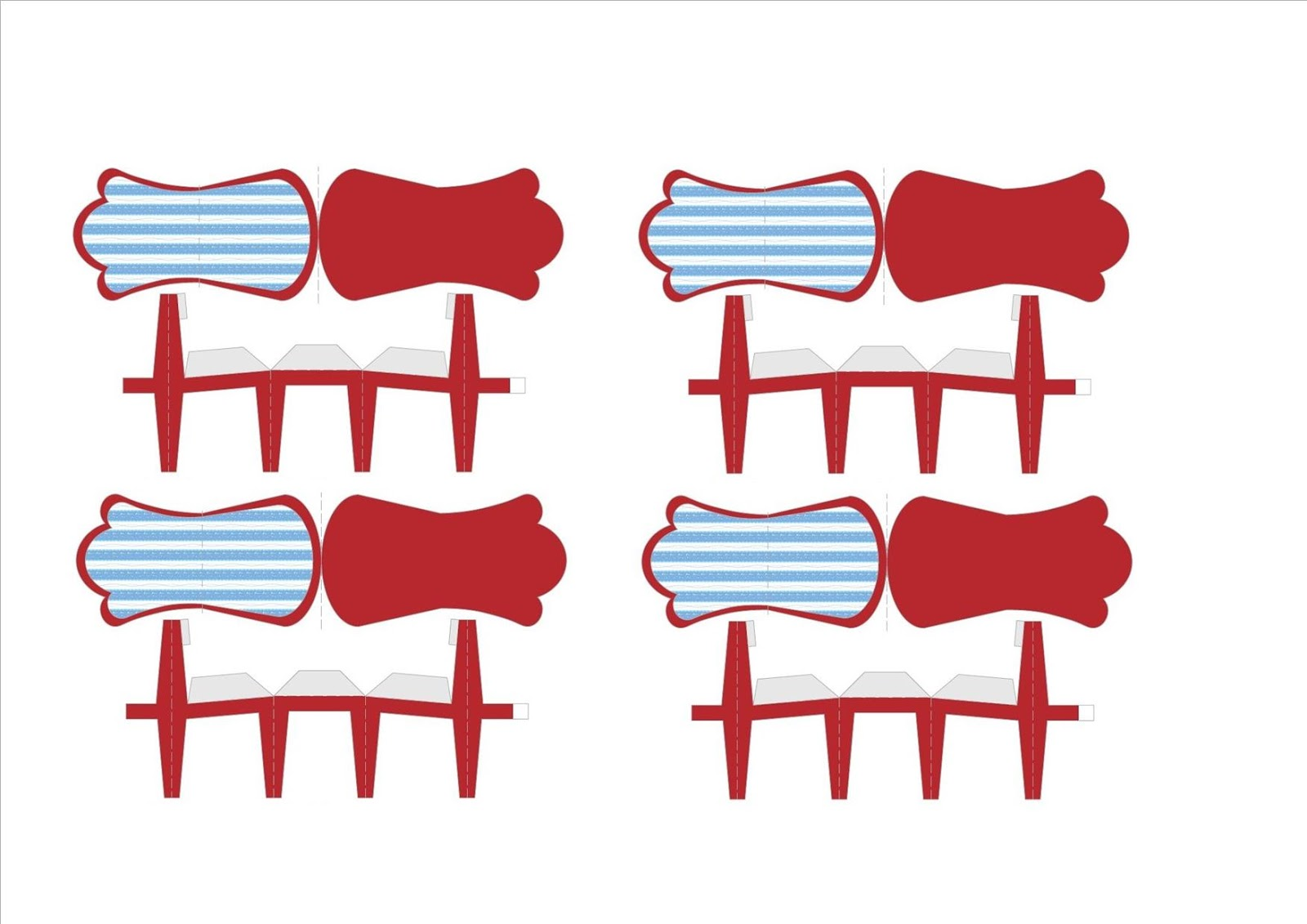 Extremamente Meninice Aguda: Moldes de papel para imprimir, cortar, colar e criar. EQ45