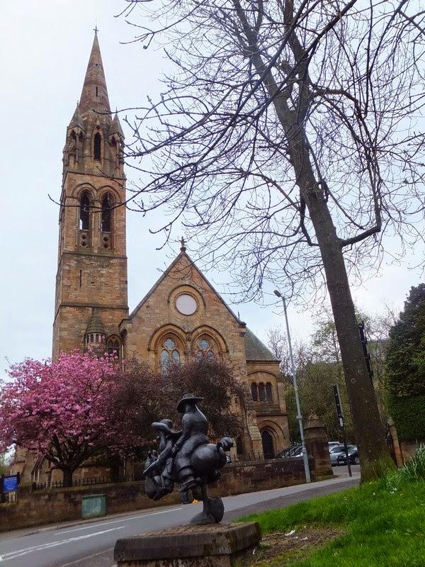 Glasgow Scotland écosse West End