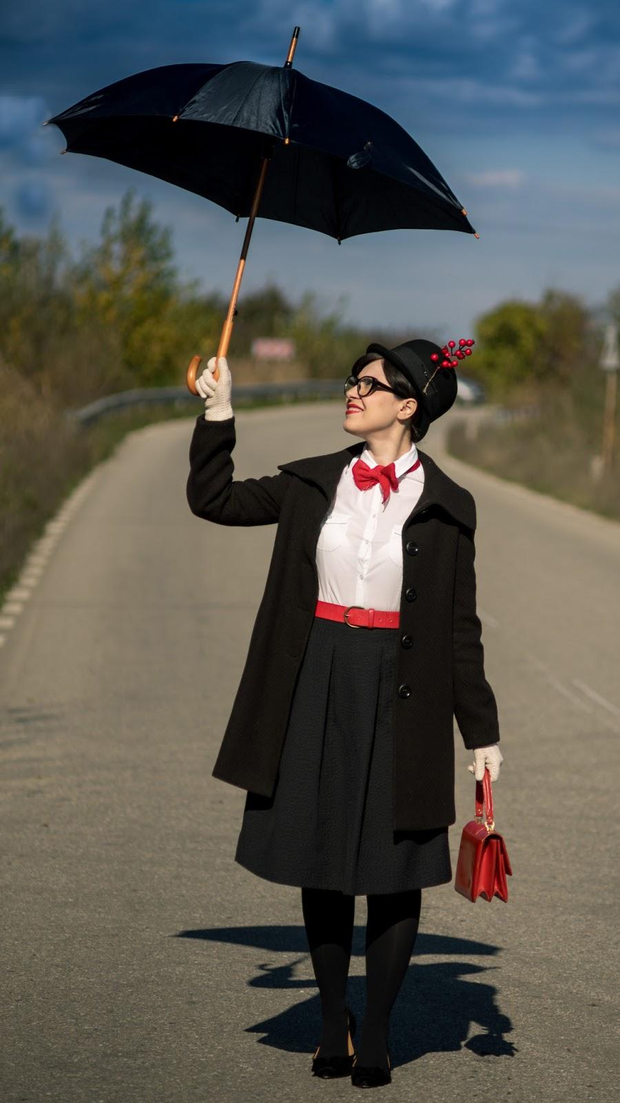Mary Poppins Umbrella Diy