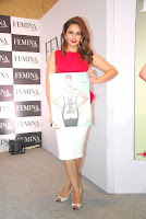 Huma Qureshi with femina editor tanya chaitanya at The Launch Of New Femina Issue