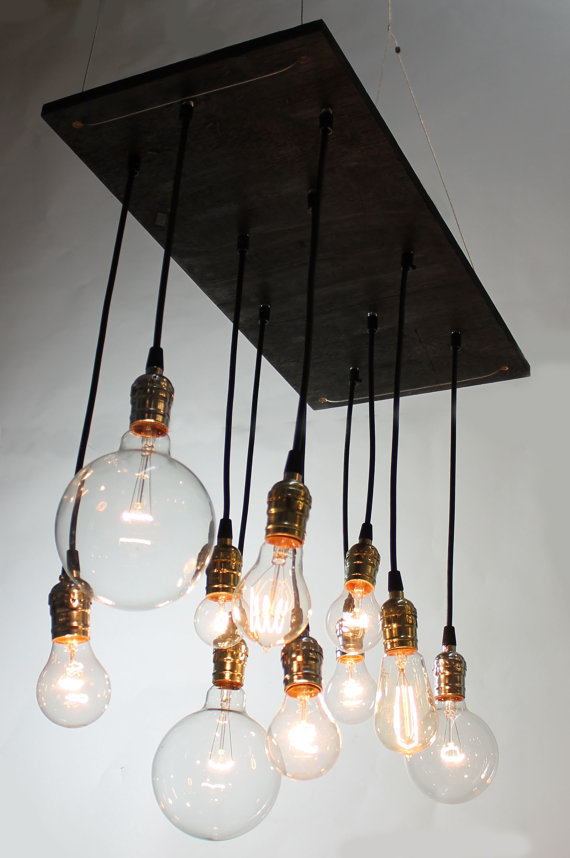 Refresheddesigns green idea 7 cool repurposing projects for Cool diy chandeliers