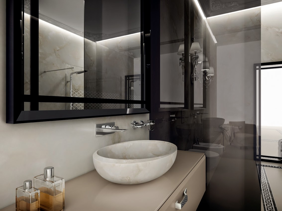 bagno il lusso del benessere con teuco. Black Bedroom Furniture Sets. Home Design Ideas