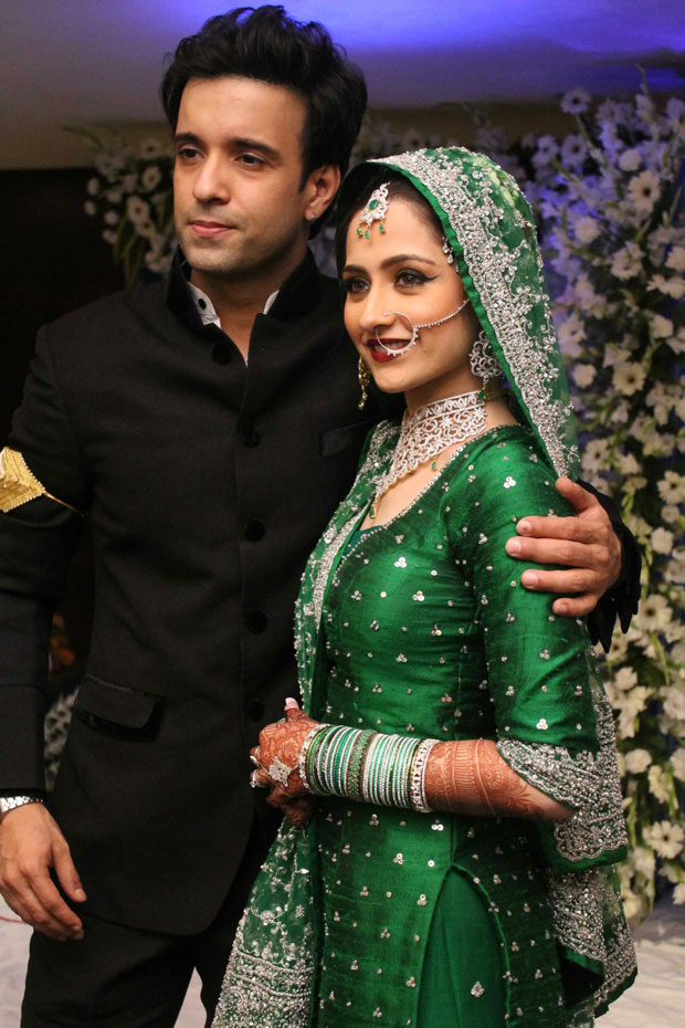 Aamir Ali and Sanjeeda Sheikh Wedding Reception | Aamir Ali And ...