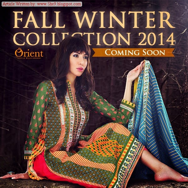 Orient Fall-Winter Collection 2014