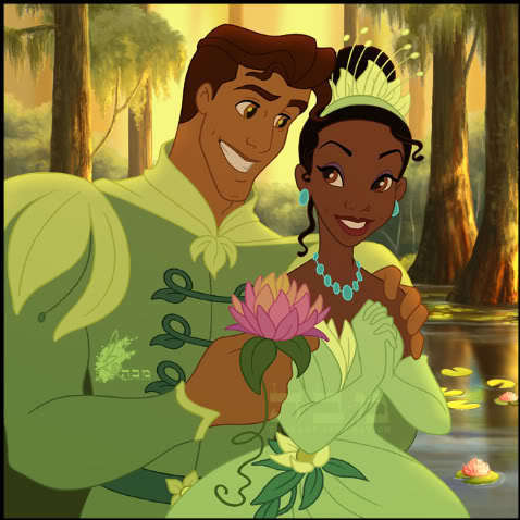 tiana and naveen love 