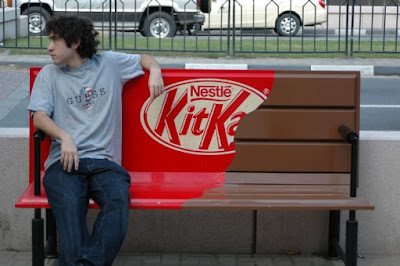 Campaña Kit-Kat Out Of Home