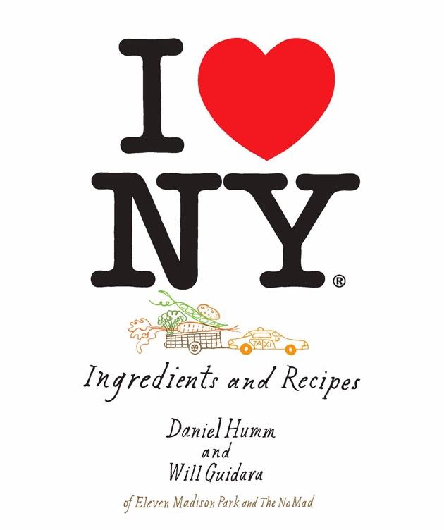 chef daniel humm's i love ny cookbook
