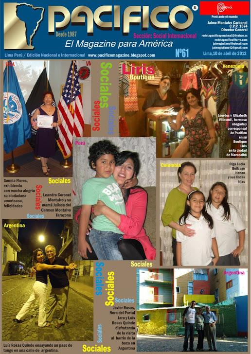 Revista Pacífico Nº 61 Social Internacional