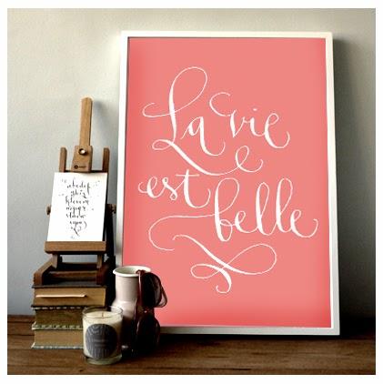 la vie est belle la vie est belle una frase que inspira. Black Bedroom Furniture Sets. Home Design Ideas