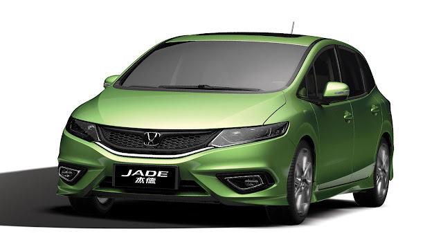 "Honda new model ""Jade"""