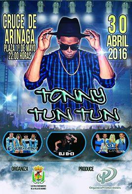 Tonny Tun Tun en concierto