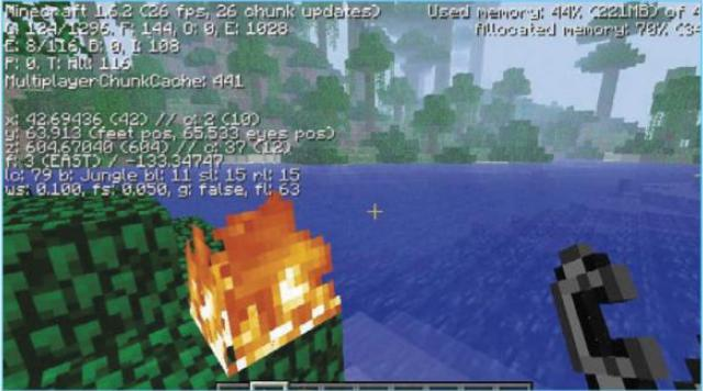 All minecraft f3 commands