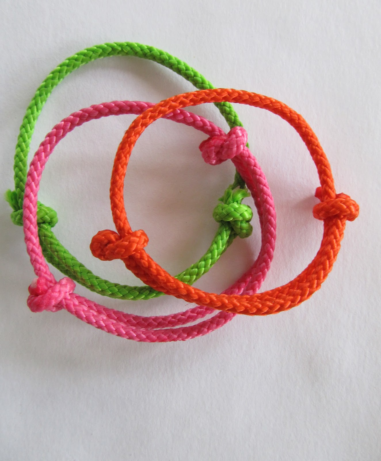 wobisobi neon bangle bracelets diy