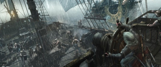 Assassins Creed 4 Naval and Fort Gamescom Demo