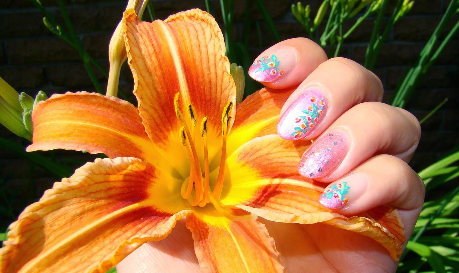 Pink Roses | PrettyNailsAndTea.Blogspot.ca