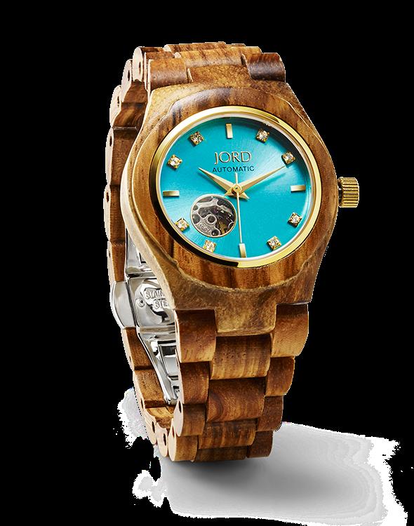 DAME SKARLETTE  Jord des montres en bois chez Woodwatches ~ Montre En Bois Femme