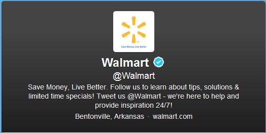 Best Cool Twitter Headers walmart multinational corporation of department and warehouse stores