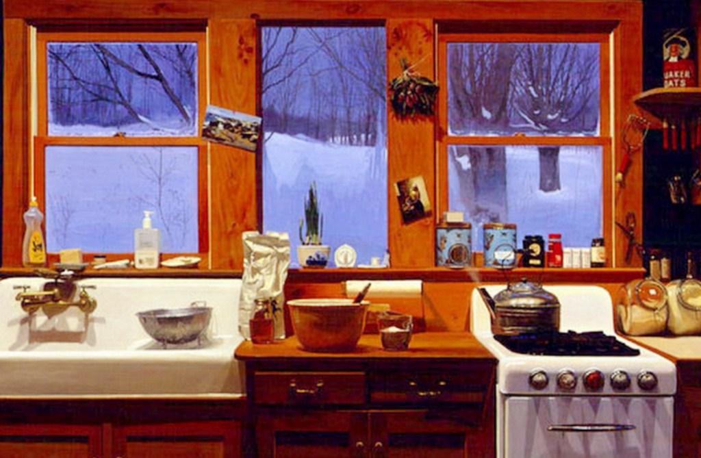 Paisajes y Bodegones: Bodegones al óleo de cocinas