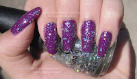 Purple with holo bling