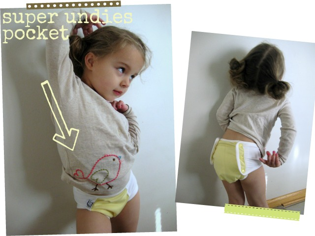 review of super undies pocket potty training pants