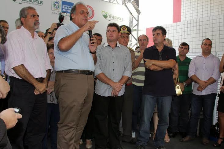 Vice-governador Pezão pontua a importância da descentralização das unidades para melhor atender à população