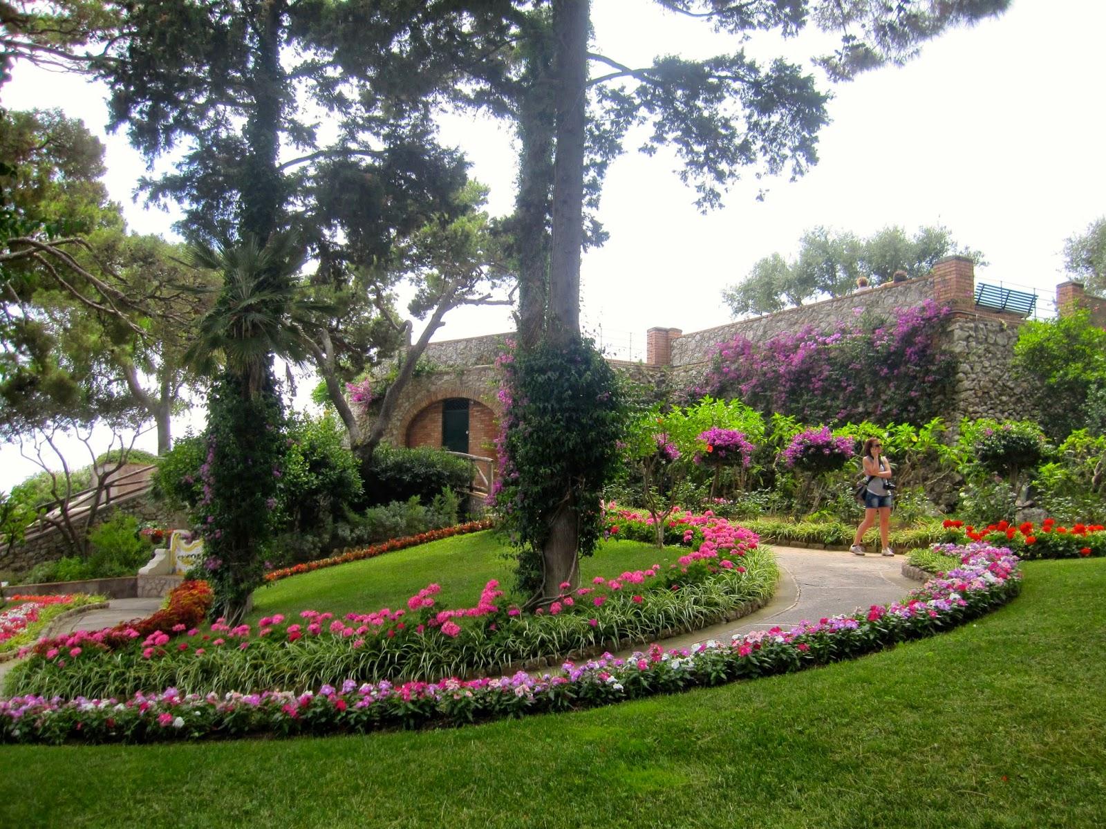 destination fiction gardens of augustus capri