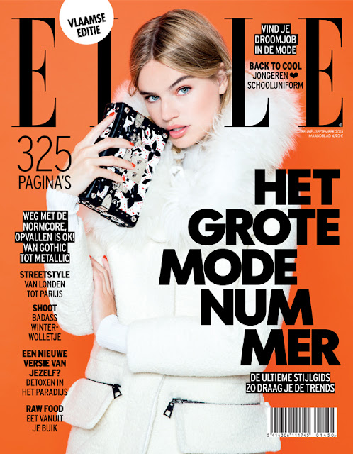 Fashion Model @ Milou Sluis by Dirk Alexander for Elle Belgium, September 2015